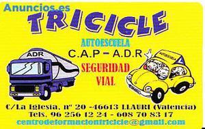 AUTOESCUELA TRICICLE. PERMISO DE CONDUCIR