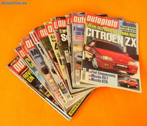 Autopista. Lote 22 Revistas Periodo