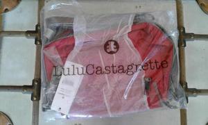 Bolso rojo Lulu Castagnette bandolera