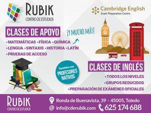 CLASES DE APOYO Y CURSOS DE INGLÉS