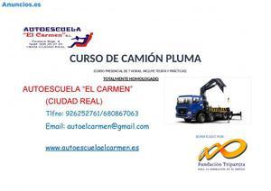CURSO DE CAMIÓN PLUMA