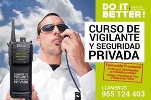 !!! CURSO DE VIGILANTE DE SEGURIDAD PRIVADA !!!