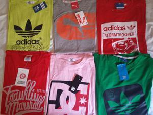 Camisetas de marca algodón