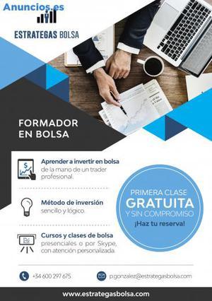 Clases Y Cursos De Formacion En Bolsa