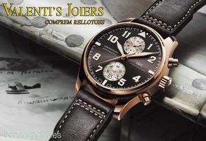 Compro Relojes de alta gama