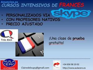 Cursos De FrancéS Por Skype
