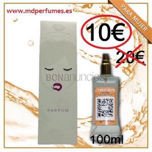 Descuento 50% venta perfumes de marca blanca equivalente