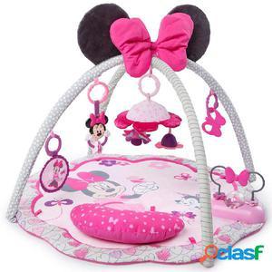 Disney Alfombra de actividades Minnie Mouse Garden rosa