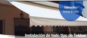 InstalacióN Y Cambios De Lona De Toldos.