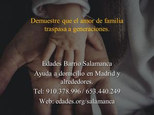 Interna, Externa para cuidado a personas mayores