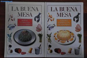 LIBROS DE COCINA, LA BUENA MESA