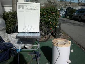 Lavadora y secadora de camping