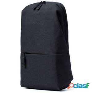 Mochila xiaomi mi city sling bag dark grey - capacidad 4