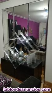 Mueble recibidor con espejos