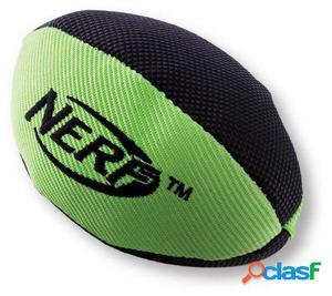 Nerf Dog Trackshot Squeaker Pelota Rugby Naranja/Verde