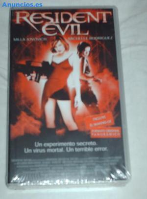 PelíCula Resident Evil En VHS.