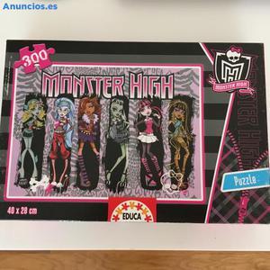 Puzzle De 300 Piezas De Las Monster High