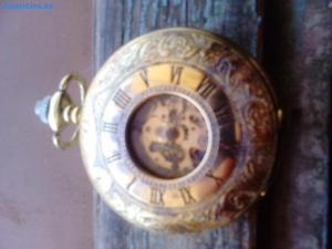 Reloj De Bolsillo De Cuerda De Movimiento