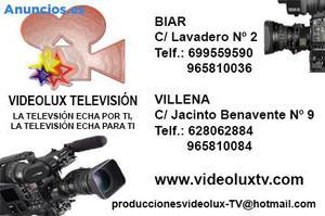 TELEVISION Y PRODUCTORA AUDIOVISUAL OFRECE TRABAJO
