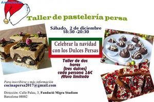 Taller De PasteleríA Persa (Dulces Para Navidad)