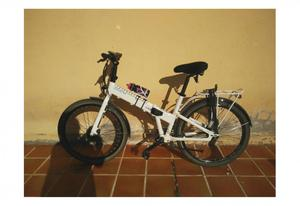 Vendo Bicicleta eléctrica plegable, nueva a estrenar