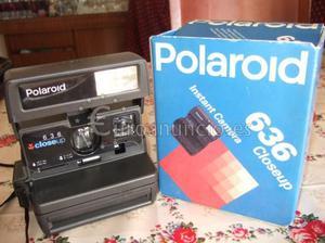 Vendo Cámara de fotos Instantánea Polaroid 636 Closeup. Es