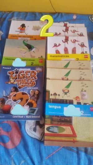 Vendo Libros de 2°, 3° y 4° de Primaria