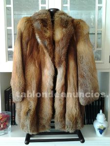 Vendo chaqueton de piel de zorro semi-nuevo