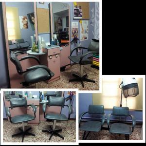 Venta de mobiliario de peluquería