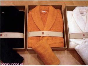 Venta de toallas y albornoces