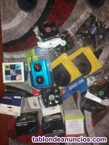 Ventiladores cpu y caja de ordenador