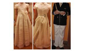 Vestido y traje de comunión