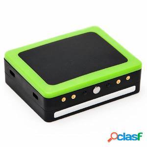 Weenect Rastreador GPS de perros negro y verde 7810