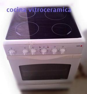 cocina vitroceramica con horno electrico