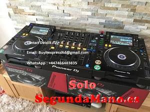 2 x PIONEER CDJ-NXS2 y 1 x DJM-900NXS2 DJ Mixer