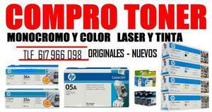 COMPRO TONER Y CARTUCHOS DETINTA ORIGINALES - Madrid