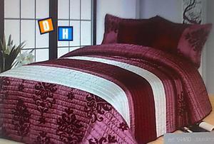 Colchas patchwork de invierno camas 150cm - Málaga