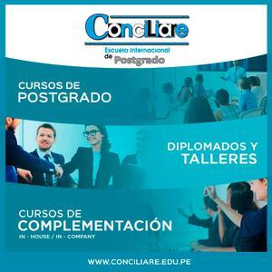Cursos de conciliacion Arequipa conciliare