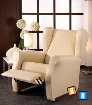 Fundas de sofá relax con orejero - Segovia