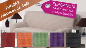 Fundas elásticas de sofá con la mejor calidad - Pontevedra