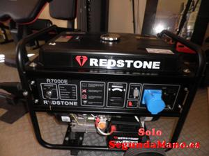 Grupo Generador Electrico Redstone RE