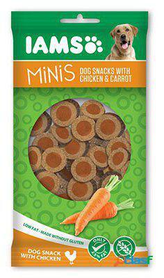 IAMS Snack de pollo y zanahoria Minis 100 gr. 100 GR