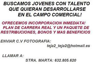 Incorpora Jóvenes Empresa de servicios. - Madrid