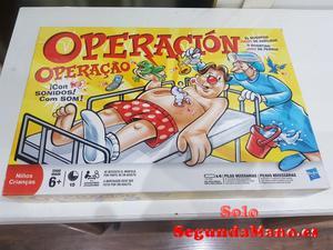 Juego de mesa Operación.