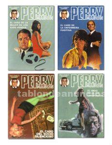 Lote 4 libros de perry mason (editorial molino)