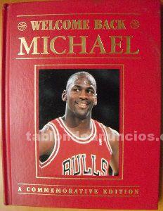 Michael jordan - libro ''welcome back, michael'' - edición