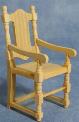 Montado de mobiliario para casita de muñecas, sillas,