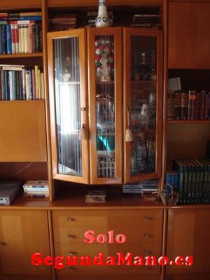 Muebles salón librería 4 cuerpos chollo por 70
