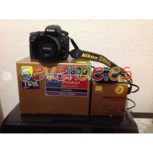 Nikon d800 poco uso y en excelentes condicion