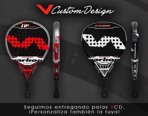 Palas de pádel VCD personalizadas - Valencia